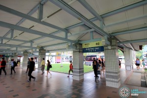 Pasir Ris Bus Interchange - Alighting Berth B2