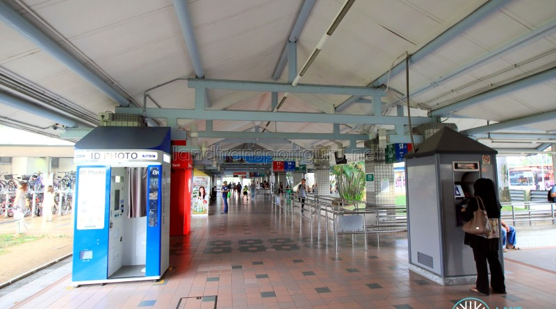 Pasir Ris Bus Interchange - Concourse