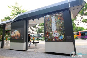 Project Bus Stop - Rear panel murals