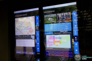 Project Bus Stop - Interactive Screens (Locality Map and Weather Information)
