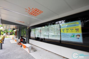 Project Bus Stop - Interior Information Boards
