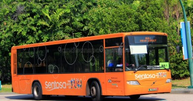 Volvo B7RLE (RU3719S) on Sentosa Bus 1
