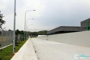SMRT Bulim Depot - Access Road