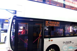 Go-Ahead Service 85 operated by SMRT Bus Captain