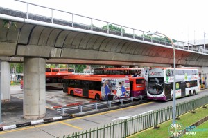 Yio Chu Kang Interchange - Bus Park