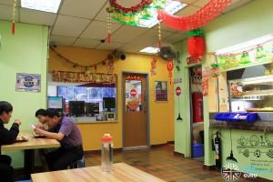 Yio Chu Kang Interchange - Interchange office and canteen