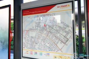 Punggol Interchange Bus Map