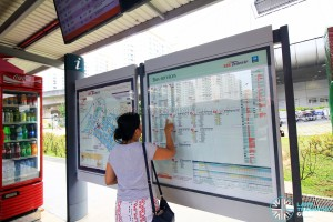 Route information boards to be replaced by Go-Ahead