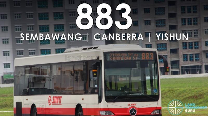 SMRT Bus Service 883