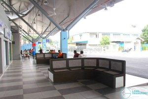 Gelang Patah Bus Terminal - Waiting area