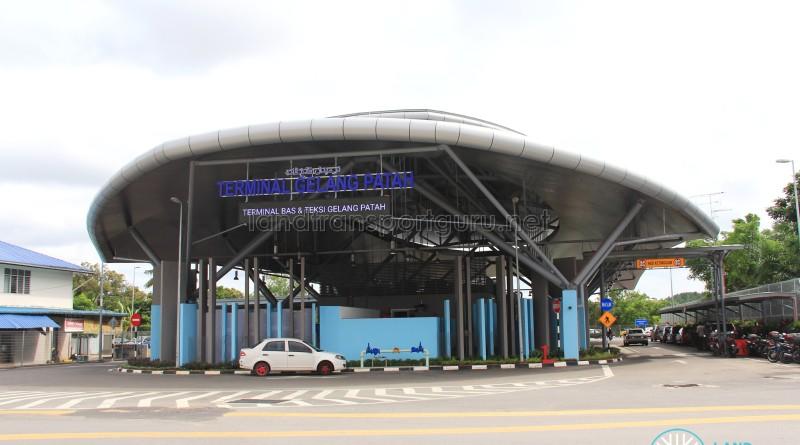 Gelang Patah Bus Terminal - Exterior