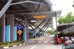 Gelang Patah Bus Terminal - Vehicle Entrance