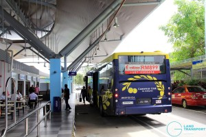 Gelang Patah Bus Terminal - Alighting Berth