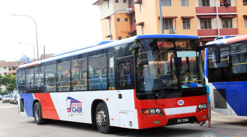 Maju Higer KLQ6128G (JPX2594) - Route P106