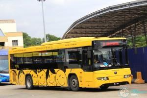 Causeway Link Yutong ZK6118HGA (JRJ7807) - Route IP1