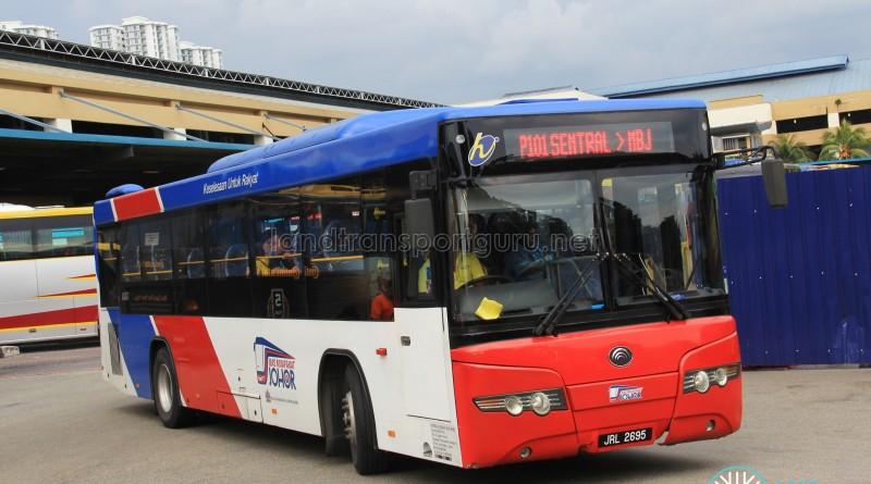 Causeway Link Yutong ZK6118HGA (JRL2695) - Route P101