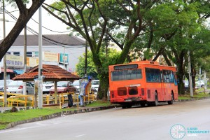Selesa Jaya Roadside Terminal - Bus Stand