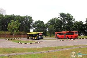 Selesa Jaya Bus Terminal - Rear