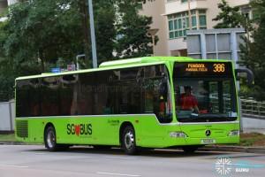Go-Ahead Mercedes-Benz Citaro (SG1061E) - Service 386