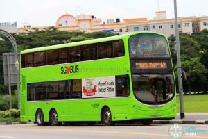 Go-Ahead Volvo B9TL Wright (SBS3512X) - Service 62