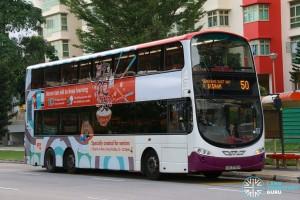 SBS Transit Volvo B9TL Wright (SBS3795X) - Service 50