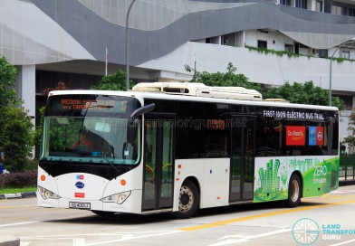 Go-Ahead Singapore trials BYD Electric Bus