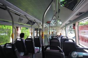 Go-Ahead BYD K9 (SG4001J) - Interior from rear