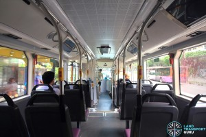 SG4001J Interior: Back to Front