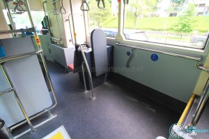SG4001J Interior: Wheelchair Bay