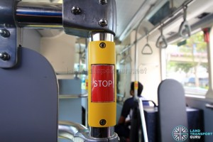 SG4001J Interior: Palm-type bus stopping bell