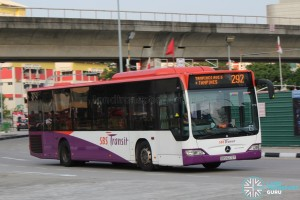 SBS Transit Mercedes-Benz Citaro - SBS6272T on 292