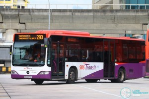 SBS Transit Mercedes-Benz Citaro - SBS6879T on 293