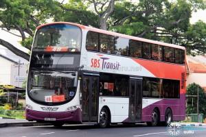 SBST Volvo B9TL Wright (SBS7618Z) - Service 48