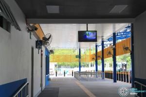Compassvale Bus Interchange - Boarding berth