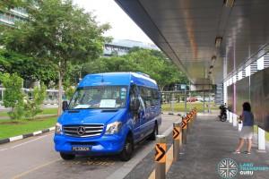 Buona Vista MRT Stop for IKEA Alexandra Shuttle