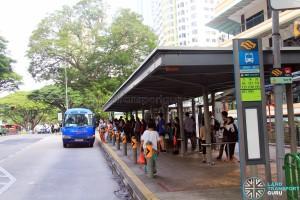 Tiong Bahru MRT Stop for IKEA Alexandra Shuttle