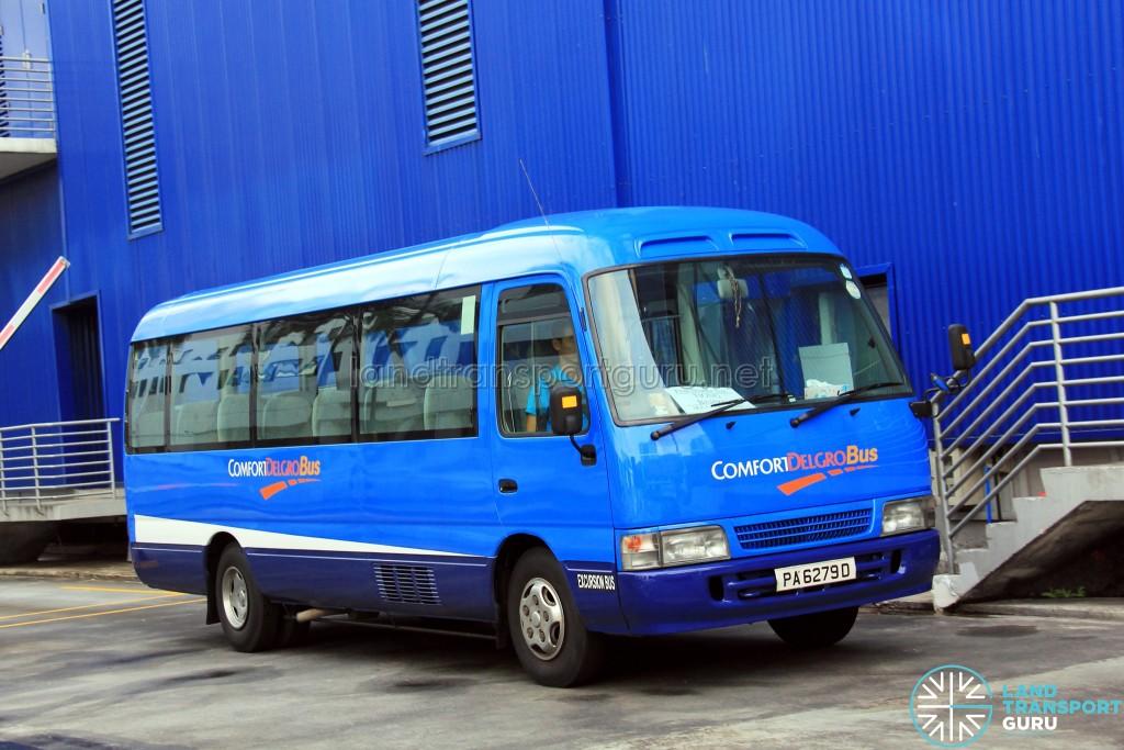 ComfortDelGro Toyota Coaster (PA6279D) - IKEA Alexandra Shuttle (Tiong Bahru Route)