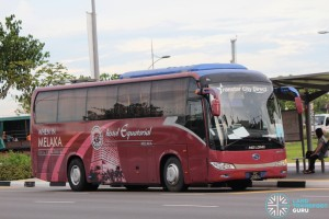 Transtar Travel & Tours King Long XMQ6117K (PC296H) - City Direct 657