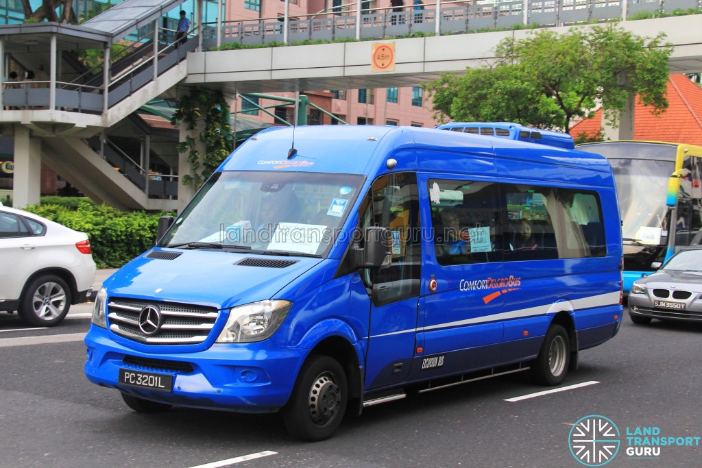 ComfortDelGro Mercedes-Benz Sprinter (PC3201L) - IKEA Alexandra Shuttle (Redhill route)