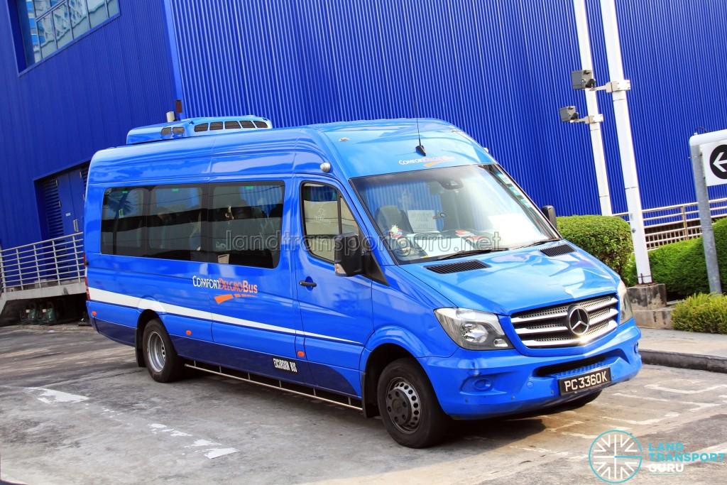 ComfortDelGro Mercedes-Benz Sprinter (PC3360K) - IKEA Alexandra Shuttle (Buona Vista route)