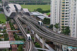 Punggol LRT System - East and West Loops