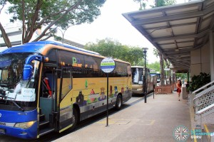 Parkwway Parade Shuttle Pickup Point