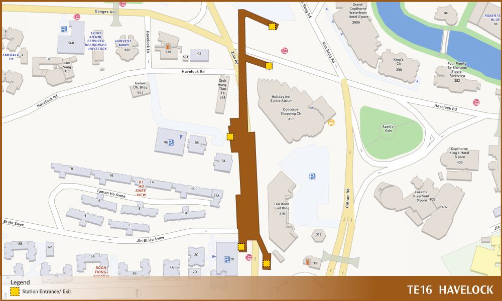 Havelock TEL Station Diagram