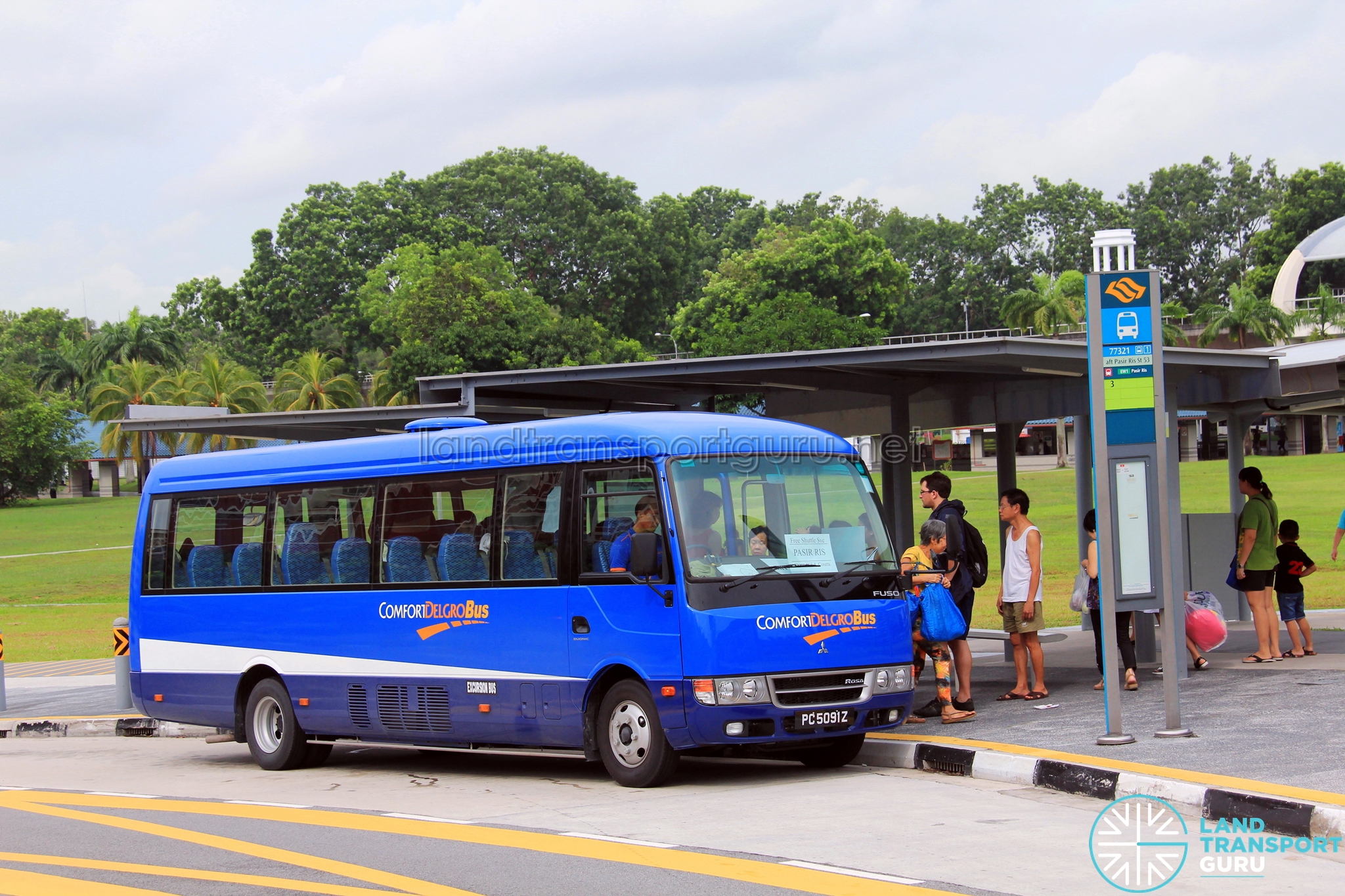 tampines retail park free shuttle bus services land transport guru