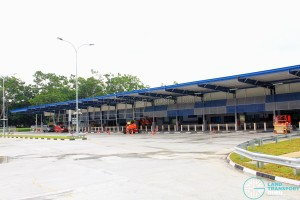 Tampines Concourse Bus Interchange - Concourse and Bus Park