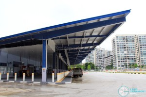 Tampines Concourse Bus Interchange - Alighting Berths
