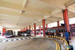 Bishan Interchange - Alighting berths