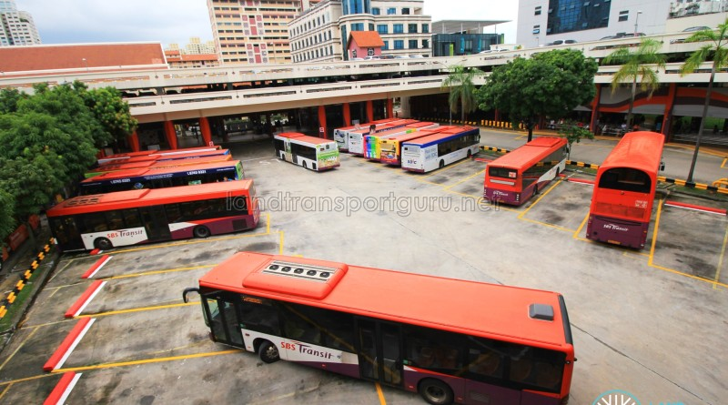 Bishan Interchange - Bus Park