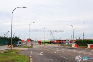 Changi Bus Park Access Road