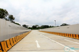 Sungei Seletar Bus Depot - Access Road